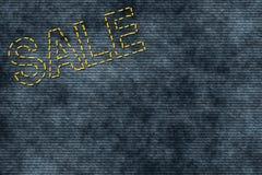 σημάδι πώλησης που ράβετα&iot Στοκ Εικόνες