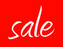 σημάδι πώλησης Στοκ φωτογραφία με δικαίωμα ελεύθερης χρήσης