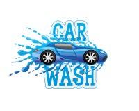 Σημάδι πλυσίματος αυτοκινήτων Στοκ φωτογραφία με δικαίωμα ελεύθερης χρήσης