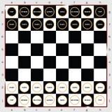 Σημάδι σκακιού και διάνυσμα εικονιδίων Στοκ εικόνες με δικαίωμα ελεύθερης χρήσης