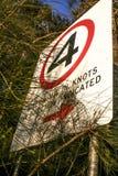 Σημάδι ταχύτητας Στοκ φωτογραφία με δικαίωμα ελεύθερης χρήσης