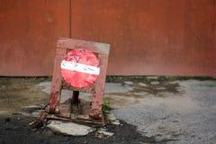 Σημάδι της απαγόρευσης Στοκ Φωτογραφία
