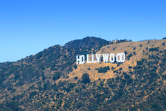 σημάδι της Angeles hollywood Los Στοκ εικόνες με δικαίωμα ελεύθερης χρήσης