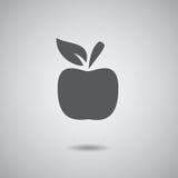 Σημάδι της Apple γκρίζο Στοκ φωτογραφίες με δικαίωμα ελεύθερης χρήσης