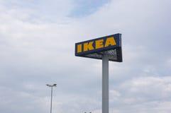 Σημάδι της Ikea Στοκ φωτογραφία με δικαίωμα ελεύθερης χρήσης