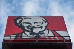 Σημάδι της KFC στοκ φωτογραφίες με δικαίωμα ελεύθερης χρήσης