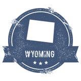 Σημάδι του Ουαϊόμινγκ απεικόνιση αποθεμάτων