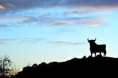 Σημάδι του Bull στην Ισπανία Στοκ εικόνα με δικαίωμα ελεύθερης χρήσης