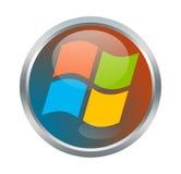 Σημάδι του Microsoft Windows Στοκ Φωτογραφία