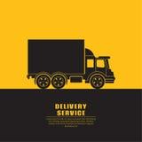 Σημάδι φορτηγών με Στοκ Φωτογραφίες
