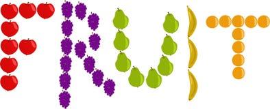 Σημάδι φρούτων Στοκ φωτογραφίες με δικαίωμα ελεύθερης χρήσης