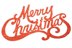 Σημάδι Χαρούμενα Χριστούγεννας Στοκ φωτογραφία με δικαίωμα ελεύθερης χρήσης