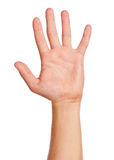 Σημάδι χεριών ατόμων Στοκ φωτογραφία με δικαίωμα ελεύθερης χρήσης