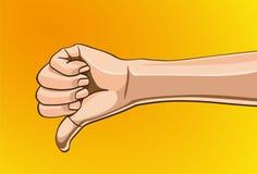 Σημάδι χεριών Στοκ Φωτογραφία