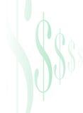 σημάδι δολαρίων line2 Στοκ φωτογραφία με δικαίωμα ελεύθερης χρήσης