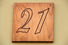 Σημάδι 21 στοκ φωτογραφίες με δικαίωμα ελεύθερης χρήσης