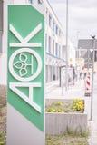 Σημάδι AOK Στοκ εικόνα με δικαίωμα ελεύθερης χρήσης