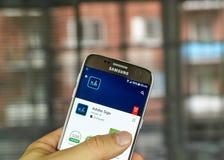 Σημάδι app πλίθας Στοκ εικόνα με δικαίωμα ελεύθερης χρήσης