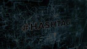 Σημάδι Hashtag φιλμ μικρού μήκους