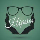 Σημάδι Hipster ελεύθερη απεικόνιση δικαιώματος