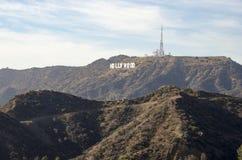 Σημάδι 2 Hollywood Στοκ Εικόνες
