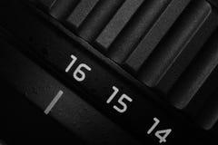 σημάδι 16mm σε έναν φακό Στοκ εικόνες με δικαίωμα ελεύθερης χρήσης