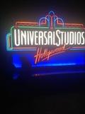 Σημάδι UNIVERSAL STUDIO Στοκ Φωτογραφίες