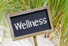Σημάδι Wellness Στοκ φωτογραφία με δικαίωμα ελεύθερης χρήσης