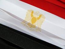 Σημαία ή έμβλημα της Αιγύπτου Στοκ Φωτογραφίες