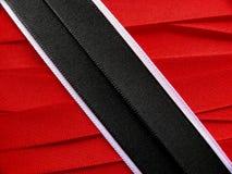 Σημαία ή έμβλημα του Τρινιδάδ και Τομπάγκο Στοκ φωτογραφία με δικαίωμα ελεύθερης χρήσης