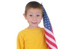 σημαία αγοριών στοκ φωτογραφία με δικαίωμα ελεύθερης χρήσης