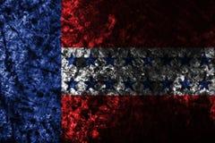 Σημαία αρχιπελαγών Tuamotu grunge, ομάδες νησιών γαλλικό σε πολυ ελεύθερη απεικόνιση δικαιώματος