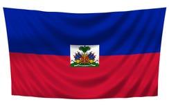 σημαία Αϊτή Στοκ Φωτογραφίες