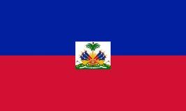 σημαία Αϊτή Στοκ Εικόνα