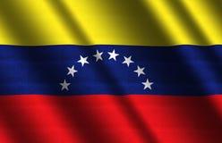 σημαία Βενεζουέλα Στοκ Εικόνα