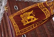 σημαία Βενετός Στοκ Εικόνες
