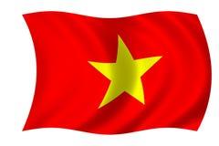 σημαία Βιετνάμ Στοκ φωτογραφία με δικαίωμα ελεύθερης χρήσης