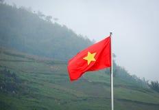 σημαία Βιετνάμ Στοκ εικόνα με δικαίωμα ελεύθερης χρήσης