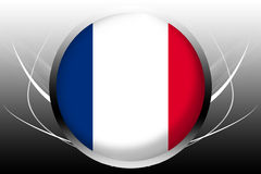 σημαία Γαλλία ελεύθερη απεικόνιση δικαιώματος