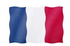 σημαία Γαλλία Στοκ εικόνα με δικαίωμα ελεύθερης χρήσης