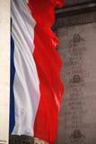 σημαία γαλλικά Στοκ Φωτογραφίες