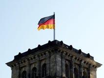 σημαία Γερμανία Στοκ φωτογραφία με δικαίωμα ελεύθερης χρήσης