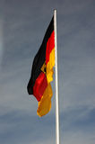 σημαία Γερμανία Στοκ εικόνα με δικαίωμα ελεύθερης χρήσης