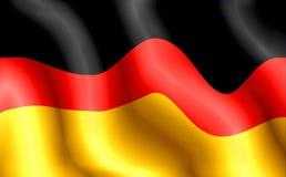 σημαία Γερμανία Στοκ φωτογραφίες με δικαίωμα ελεύθερης χρήσης