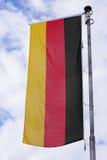 σημαία Γερμανία Στοκ Φωτογραφία