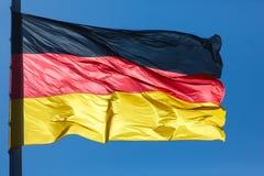 σημαία Γερμανία Στοκ εικόνες με δικαίωμα ελεύθερης χρήσης