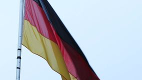σημαία Γερμανία απόθεμα βίντεο