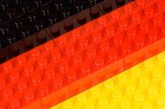 σημαία γερμανικά οικοδόμ&eta Στοκ φωτογραφία με δικαίωμα ελεύθερης χρήσης