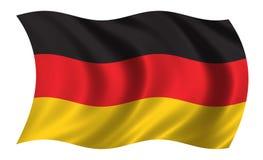 σημαία γερμανικά Στοκ εικόνα με δικαίωμα ελεύθερης χρήσης