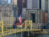 σημαία γεφυρών στοκ εικόνες